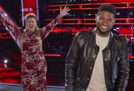 the voice kelly clarkson usher