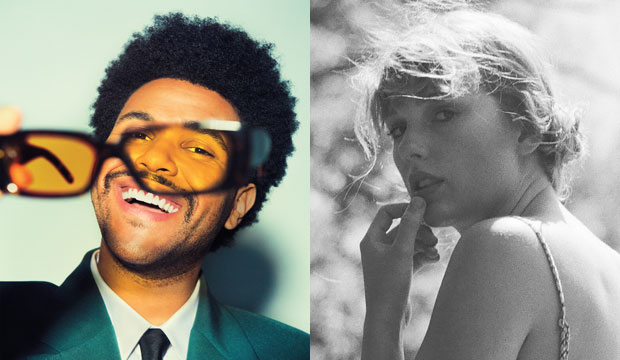 The Weeknd and Taylor Swift