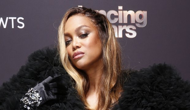 Tyra Banks hosts Dancing with the Stars
