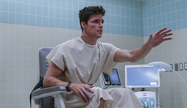 Robbie Amell, Upload