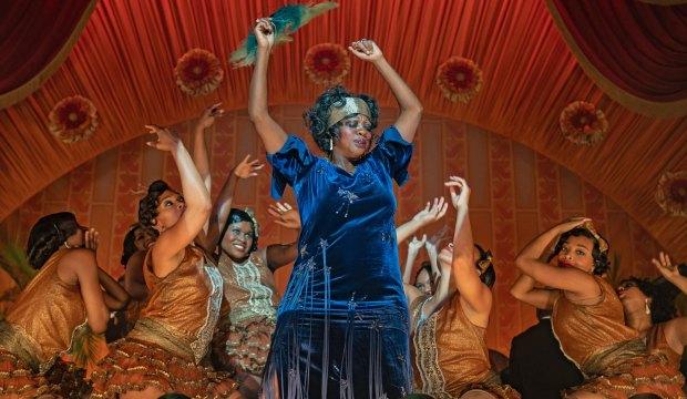 Viola Davis in Ma Rainey's Black Bottom on Netflix