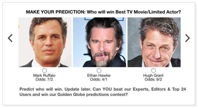 Golden Globes 2021 Best TV Movie/Limited Actor predictions