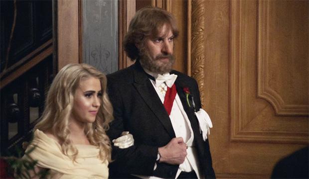 Maria Bakalova and Sacha Baron Cohen, Borat Subsequent Moviefilm