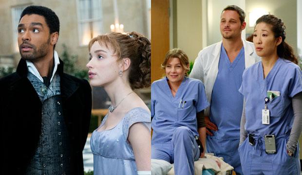 Bridgerton and Grey's Anatomy
