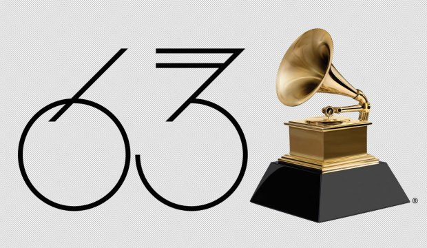 63rd Annual Grammy Awards logo