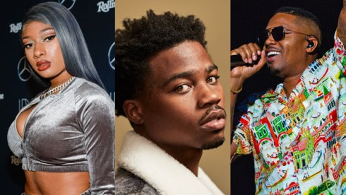 Megan Thee Stallion, Roddy Ricch and Nas