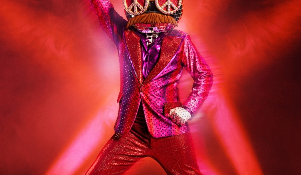 the masked dancer disco ball costume
