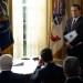 Brendan Gleeson and Jeff Daniels, The Comey Rule