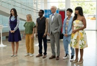 D'Arcy Carden, Kristen Bell, William Jackson Harper, Ted Danson, Manny Jacinto and Jameela Jamil, The Good Place