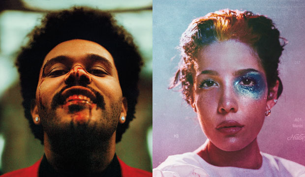The Weeknd and Halsey