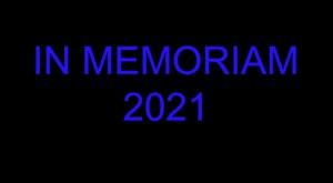 In Memoriam 2021