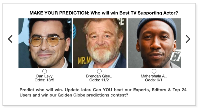 Golden Globes 2021 Best TV Supporting Actor predictions