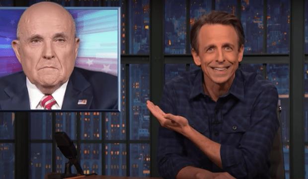 Seth Meyers on Rudy Giuliani