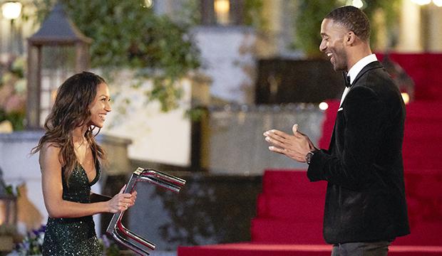 Serena P. and Matt James, The Bachelor