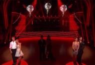 Derek Hough, Kellie Pickler, Tom Bergeron, Brooke Burke, Zendaya and Val Chmerkovskiy, Dancing with the Stars