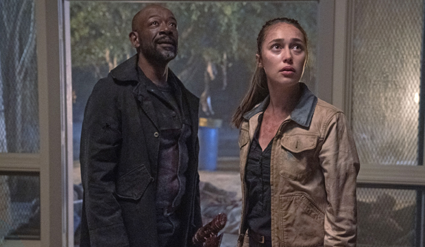 fear the walking dead lennie james Alycia Debnam Carey