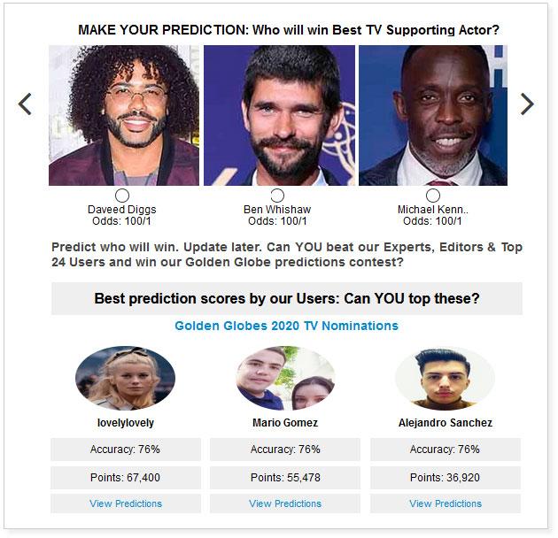 golden globes best tv supporting actor widget
