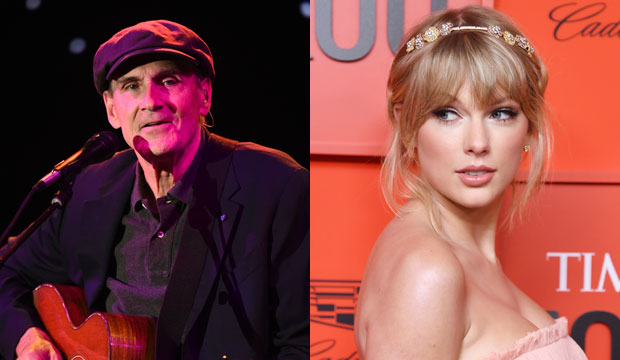 James Taylor and Taylor Swift
