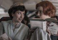 Marielle Heller and Anya Taylor Joy in The Queen's Gambit