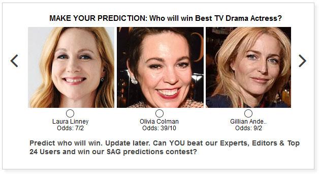 SAG Awards 2021 Best TV Drama Actress
