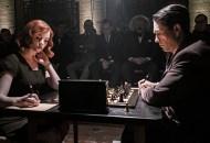 Anya Taylor-Joy and Marcin Dorocinski, The Queen's Gambit