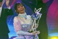 Gabby Douglas Cotton Candy the masked dancer reveals