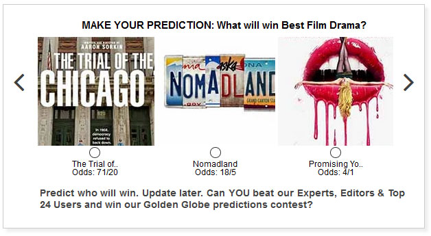 golden globes best film drama widget