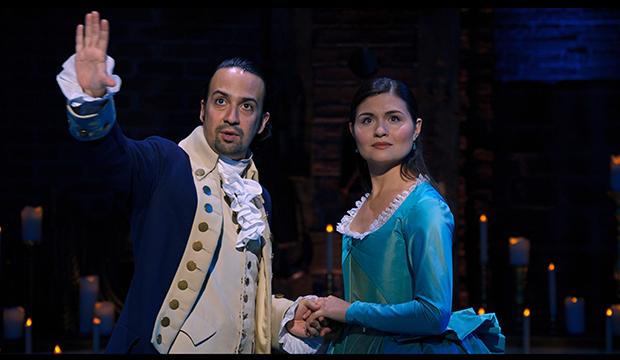 Lin-Manuel Miranda and Phillipa Soo, Hamilton