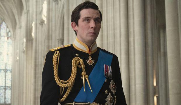 Josh O'Connor in The Crown
