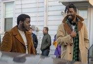 Shaka King and Daniel Kaluuya on the set of Judas and the Black Messiah