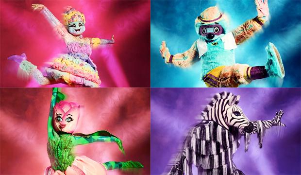 masked dancer final 4 cotton candy sloth tulip zebra