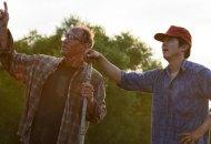 Steven Yeun and Will Patton in Minari