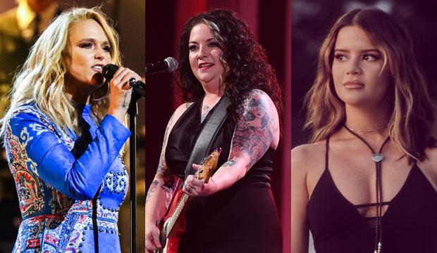 Miranda Lambert, Ashley McBryde and Maren Morris