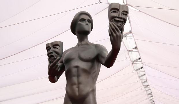 SAG Awards statue atmosphere