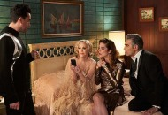Dan Levy, Catherine O'Hara, Annie Murphy and Eugene Levy, Schitt's Creek