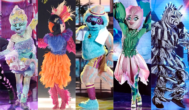 the masked dancer top 5