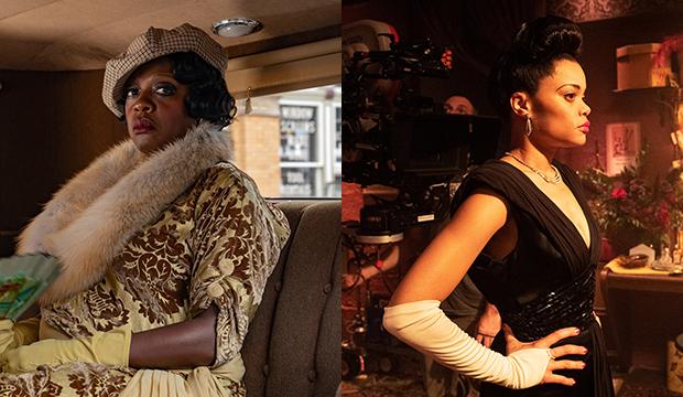 Viola Davis, Ma Rainey's Black Bottom; Andra Day, The United States vs. Billie Holiday