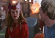 Elizabeth Olsen and Evan Peters, WandaVision
