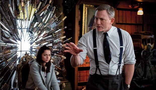 Ana de Armas Daniel Craig Knives Out