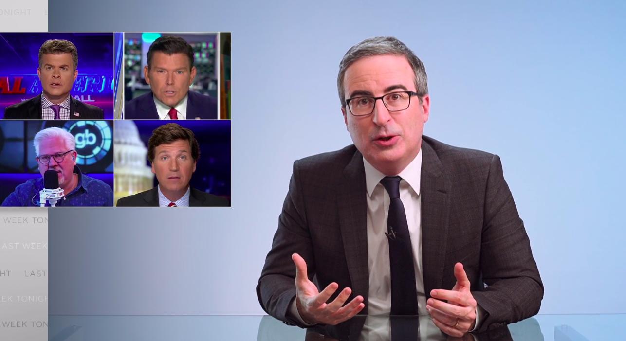 John Oliver decries conservative media's meltdown over Dr. Seuss