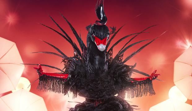 The Masked Singer Spoilers Black Swan Is Jojo Levesque Girl Singer Goldderby