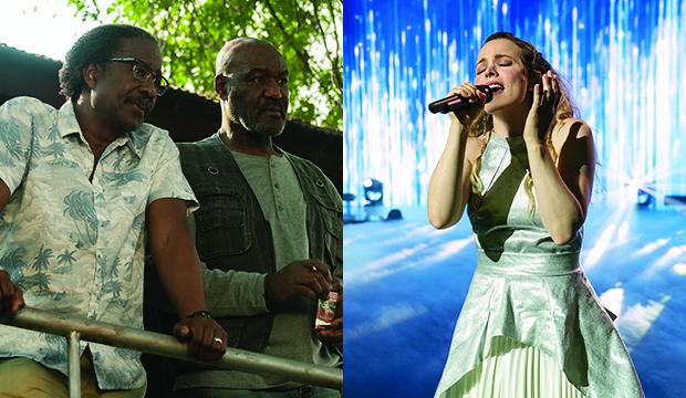 Clarke Peters and Delroy Lindo, Da 5 Bloods; Rachel McAdams, Eurovision