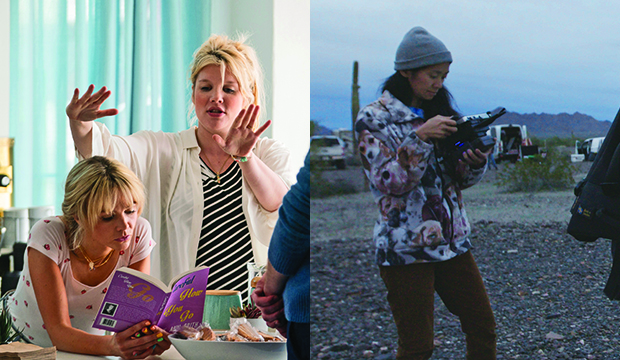 Carey Mulligan and Emerald Fennell, Promising Young Woman; Chloe Zhao, Nomadland