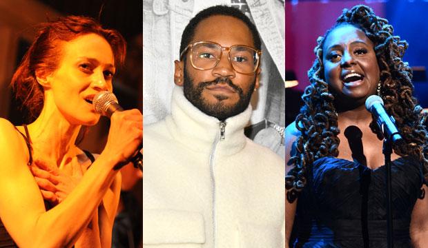 Grammy winners Fiona Apple, Kaytranada and Ledisi