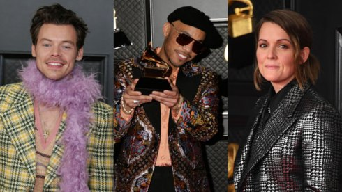 Harry Styles, Anderson Paak and Brandi Carlile