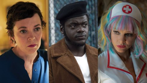 Oscar nominees Olivia Colman, Daniel Kaluuya and Carey Mulligan