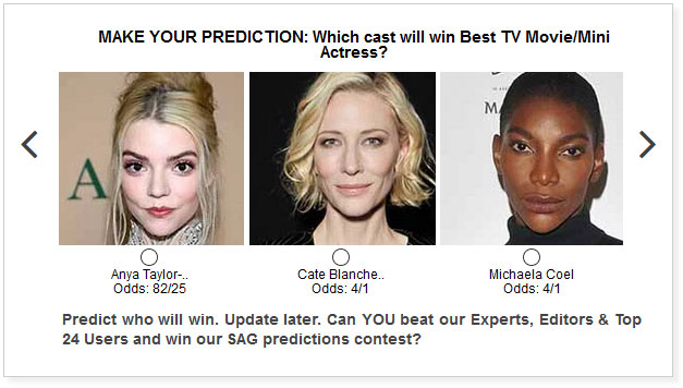 sag awards best tv movie limited actress predictions widget