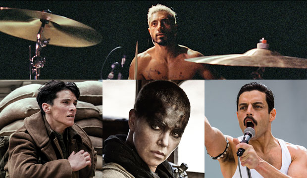 Sound of Metal. Dunkirk, Mad Max Fury Road and Bohemian Rhapsody