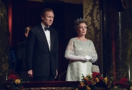 Tobias Menzies and Olivia Colman, The Crown