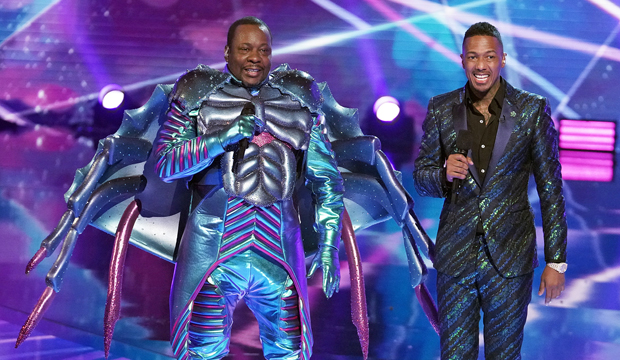 Bobby Brown Crab the masked singer reveals